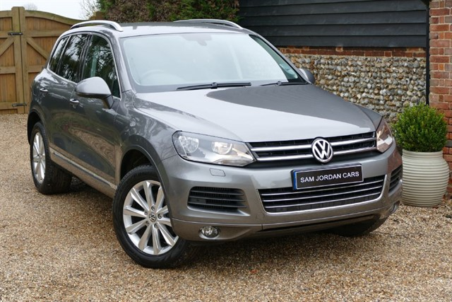 used VW Touareg 3.0 TDI V6 SE BLUEMOTION TECHNOLOGY in bury-st-edmunds-suffolk