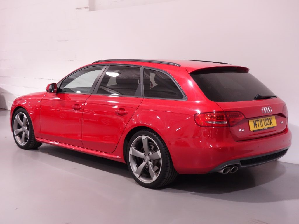 used red audi a4 avant for sale hampshire. Black Bedroom Furniture Sets. Home Design Ideas