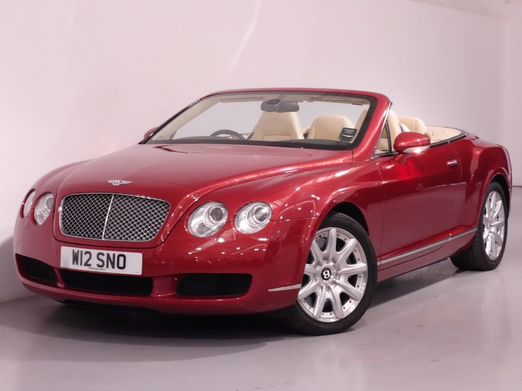 used red bentley continental gtc for sale hampshire. Black Bedroom Furniture Sets. Home Design Ideas