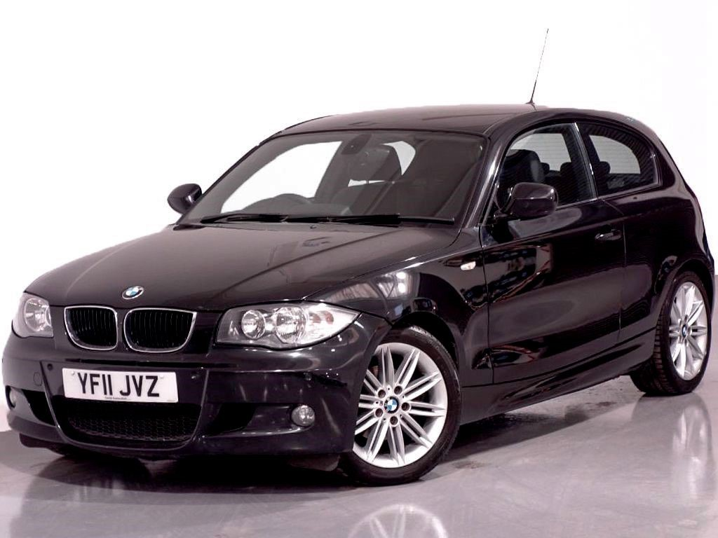 used black bmw 118d for sale hampshire. Black Bedroom Furniture Sets. Home Design Ideas