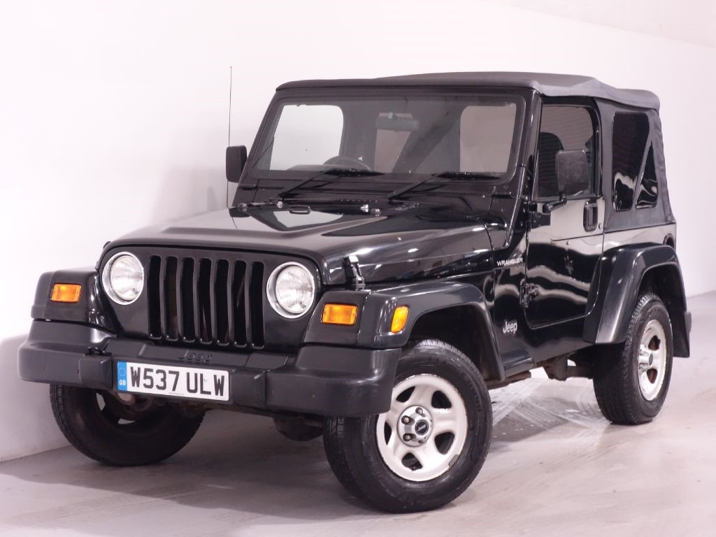 used black jeep wrangler for sale hampshire. Black Bedroom Furniture Sets. Home Design Ideas