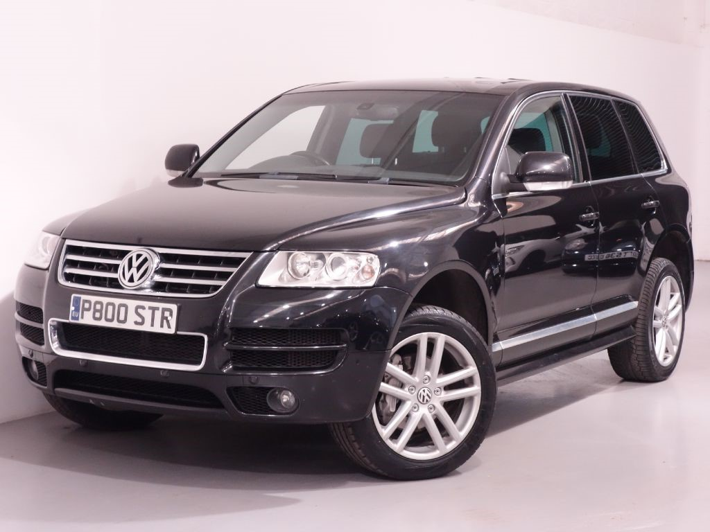 used black vw touareg for sale hampshire. Black Bedroom Furniture Sets. Home Design Ideas