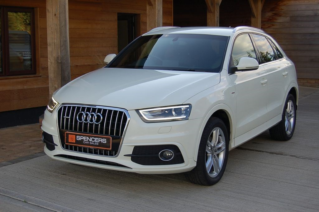 audi q3 tdi quattro s line s tronic 177 for sale. Black Bedroom Furniture Sets. Home Design Ideas