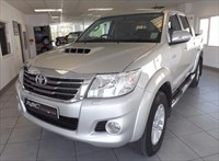 Used Toyota Hilux HI-LUX INVINCIBLE 4X4 D-4D DCB. SATELLITE NAVIGATION