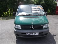 Used Mercedes Vito 113 +2 Window Van DISABILITY CONVERTED