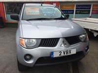 Used Mitsubishi L200 Pick Up DI-D 4Work 4WD 134Bhp