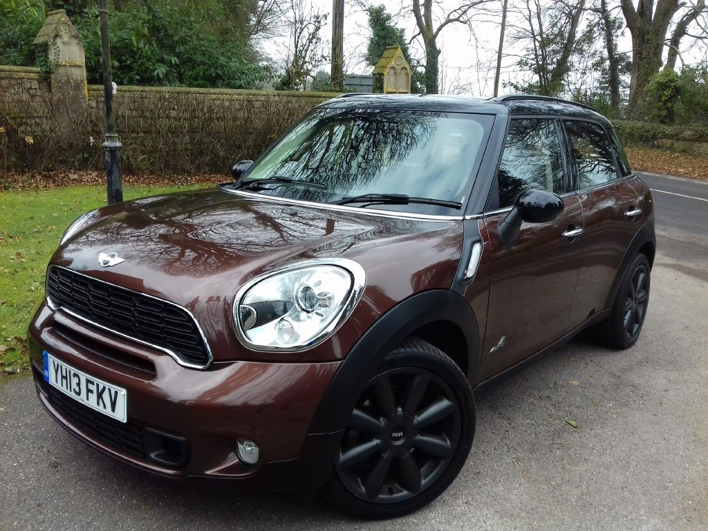used brilliant copper bronze mini countryman for sale dorset. Black Bedroom Furniture Sets. Home Design Ideas