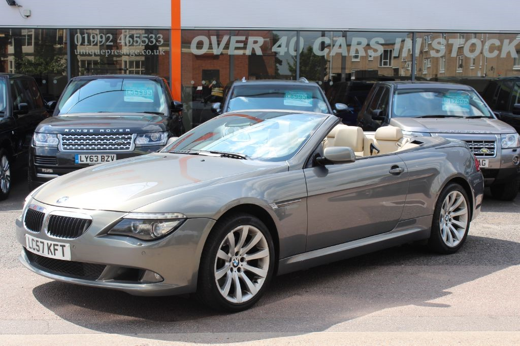 used grey bmw 630i for sale hertfordshire. Black Bedroom Furniture Sets. Home Design Ideas