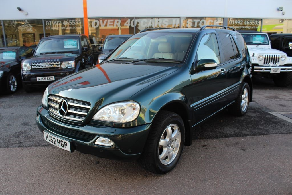 used green mercedes ml500 for sale hertfordshire. Black Bedroom Furniture Sets. Home Design Ideas
