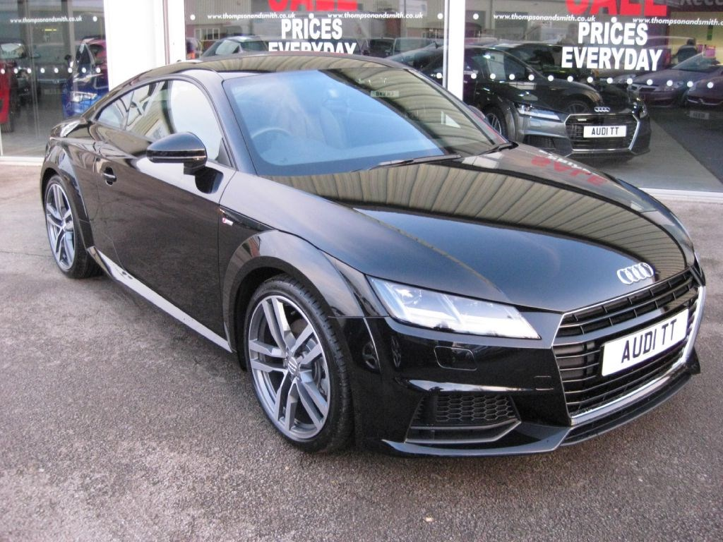 used mythos black metallic audi tt for sale lincolnshire. Black Bedroom Furniture Sets. Home Design Ideas