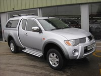 Used Mitsubishi L200 Warrior Club Cab 2.5 DI-D 4WD LWB
