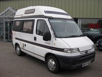 Used Peugeot Boxer Autosleepers Harmony 2 berth 2 OWNERS LOW MILEAGE