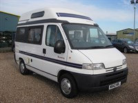 Used Peugeot Boxer Autosleepers Harmony 2 berth 3 OWNERS LOW MILEAGE