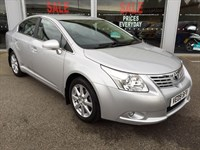 Used Toyota Avensis TR 1.8 VVT-i V-matic 4dr Auto VERY LOW MILEAGE