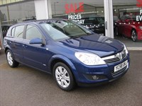 Used Vauxhall Astra Design 1.8i 16v VVT 5dr Auto LOW MILEAGE