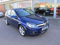 Used Vauxhall Astra SRi 1.8i 16v VVT 5dr Auto LEATHER SAT NAV