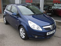 Used Vauxhall Corsa Design 1.4i 16v 5dr Auto LOW MILEAGE