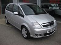 Used Vauxhall Meriva Design 1.6i 16v 5dr Easytronic A/C LOW MILEAGE