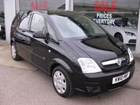 Used Vauxhall Meriva Club 1.6i 16v VVT 5dr Easytronic 12 Months RAC Warranty