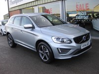 Used Volvo XC60 2.4 D5 (215) AWD R-Design Lux Nav 5dr Geartronic HIGH SPEC