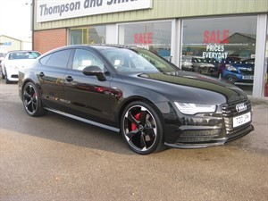 used Audi A7 Sportback BiTDI 320PS Quattro S Line Black Edition in louth