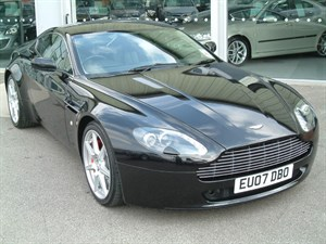 used Aston Martin Vantage 4.3 V8 2dr Coupe Sportshift Auto FULL AMSH in louth