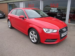 used Audi A3 1.8 TFSI 180PS Sport 3dr S Tronic NEW SHAPE in louth