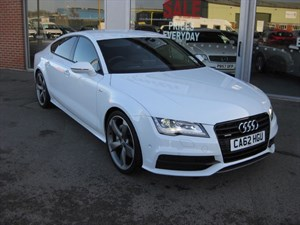 used Audi A7 3.0 BiTDI Quattro Black Edition 313PS 5dr TECH PACK with EXTRAS in louth