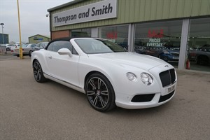 used Bentley Continental GTC GTC V8 4.0 2dr Convertible HIGH SPEC FBSH in louth