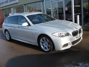 used BMW 520d M Sport Touring 2.0d 5dr Estate Auto PRO NAV in louth