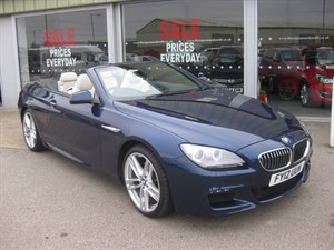 used BMW 640d M 640d M Sport 2dr Convertible Auto LOW MILEAGE in louth