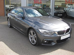 used BMW  435D Xdrive M SPORT 2dr Auto HIGH SPEC in louth