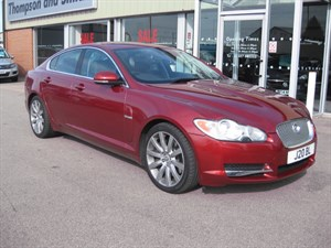 used Jaguar XF 3.0TD V6 PREMIUM LUXURY 4dr Auto in louth
