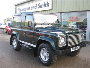 used Land Rover Defender 90 XS 2.4TD STATION WAGON RAC Warranty in louth