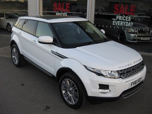 used Land Rover Range Rover Evoque 2.2SD4 Pure Tech 5dr Auto 4x4 PANORAMIC ROOF in louth