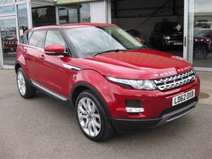 used Land Rover Range Rover Evoque 2.2SD4 Prestige LUX 5dr Auto 4x4 LOW MILEAGE 1 OWNER in louth