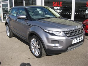 used Land Rover Range Rover Evoque 2.2SD4 Pure Tech 5dr Auto 4x4 PAN ROOF and XENONS in louth