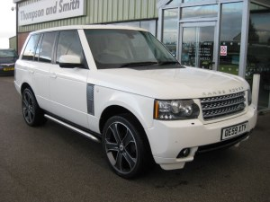 used Land Rover Range Rover Vogue 3.6TDV8 Auto ONE OWNER in louth