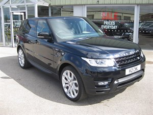 used Land Rover Range Rover Sport 3.0 SDV6 HSE Dynamic 5dr 4x4 Auto PANORAMIC ROOF in louth