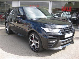 used Land Rover Range Rover Sport Overfinch 3.0 SDV6 Autobiography Dynamic 5dr  in louth