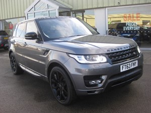 used Land Rover Range Rover Sport 3.0SDV6 HSE 5dr Dynamic Auto in louth