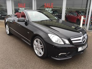 used Mercedes E350 E350CDi Blue Efficiency Sport 2dr Convertible Auto BEST SPECIFICATION in louth