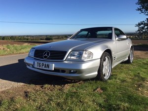 used Mercedes SL320 SL320 2dr Convertible Auto AMG PAN ROOF in louth