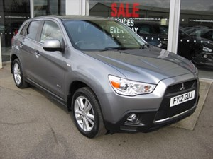 used Mitsubishi ASX 1.8TD 4 5dr 4WD SAT NAV and LEATHER  in louth