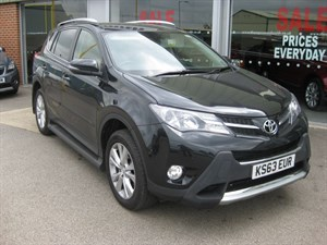 used Toyota RAV4 Invincible 2.2D-CAT AWD 5dr Auto in louth