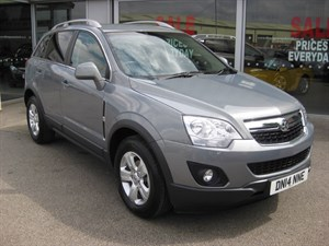 used Vauxhall Antara Exclusiv 2.2CDTi 163PS 5dr FWD Start/Stop LOW MILEAGE in louth