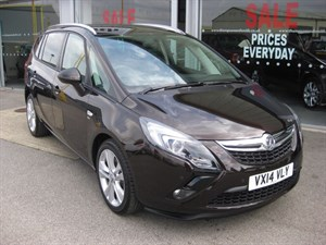 used Vauxhall Zafira Tourer SRi 2.0CDTi 16v 165PS 5dr SAVE £10,000 in louth