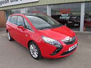 used Vauxhall Zafira Tourer Elite 1.4i 16v VVT Turbo (140PS) 5dr Auto SAVE OVER £10,000 in louth