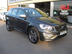 used Volvo XC60 2.4 D5 215 R-DESIGN LUX NAV Geartronic HIGH SPEC in louth