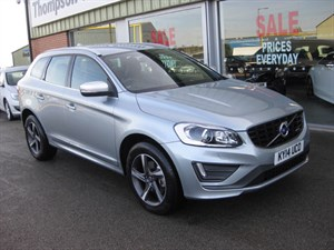 used Volvo XC60 2.4 D5 (215) AWD R-Design Lux Nav 5dr Geartronic HIGH SPEC in louth